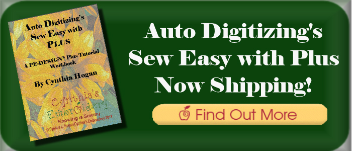 Auto Digitizing's Sew Easy