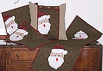 Machine Embroidery Home Series #2 Christmas Santas