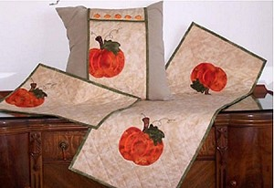 Machine Embroidery Home Series #1 Fall Pumpkins